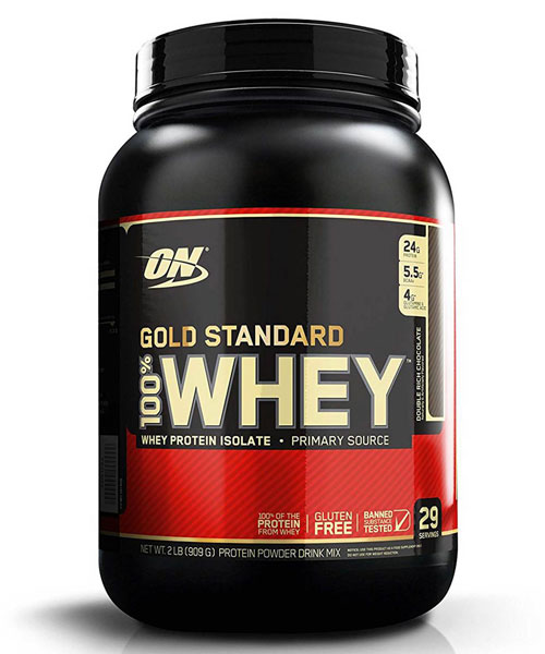 100% Whey Gold Standard Optimum Nutrition 909 г