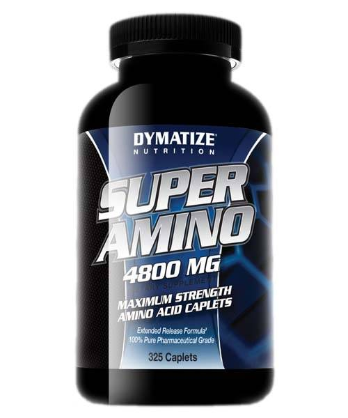 Super Amino 4800 Dymatize Nutrition 325 таб.