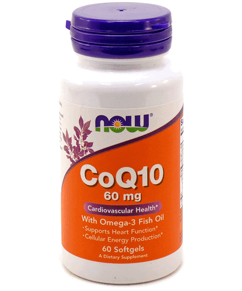 Coenzyme Q10 With Omega 3 NOW