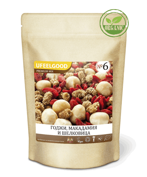 Trail Mix 6 Ufeelgood 100 гр.