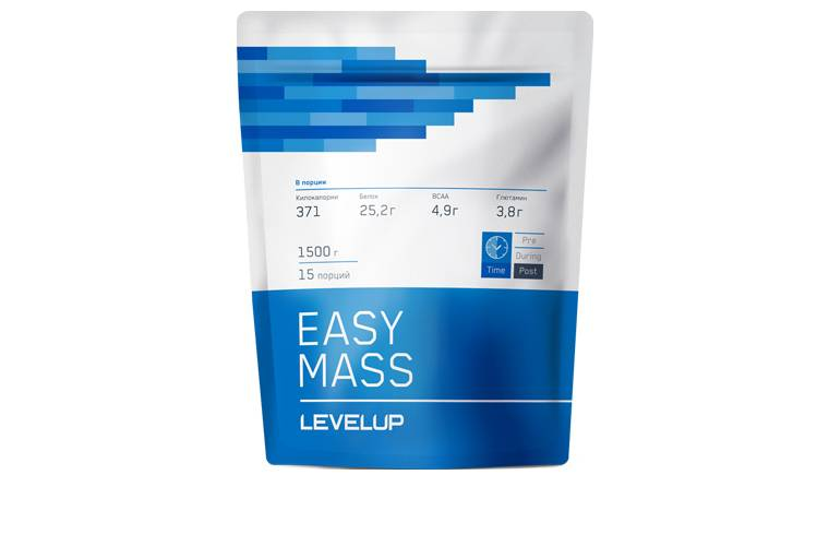 Easymass Level UP 1500 г