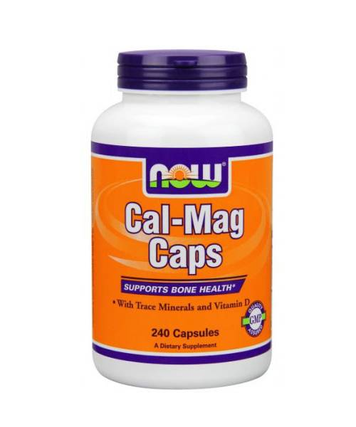 Cal-mag Caps NOW 240 капс.