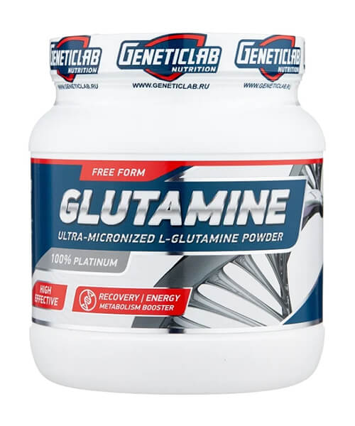 Glutamine Powder Genetic LAB 500 г