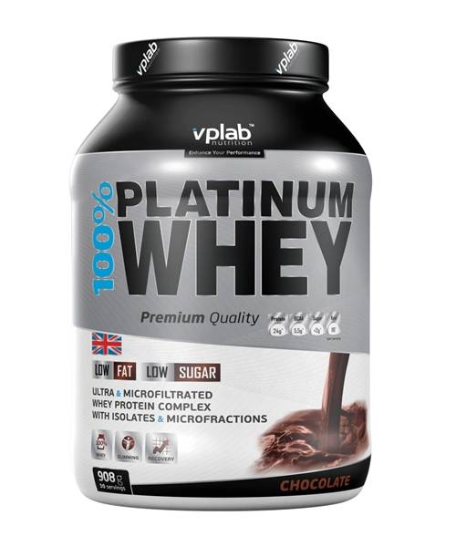 100% Platinum Whey VP Laboratory 908 г