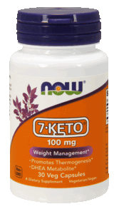 7-keto 100 mg NOW 60 капс.