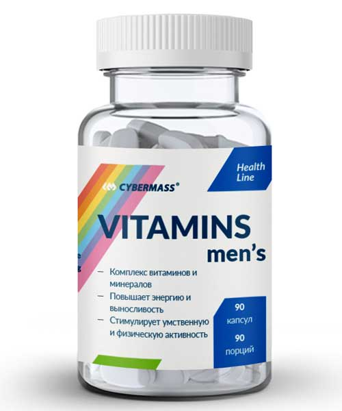 Vitamins Mens Cybermass
