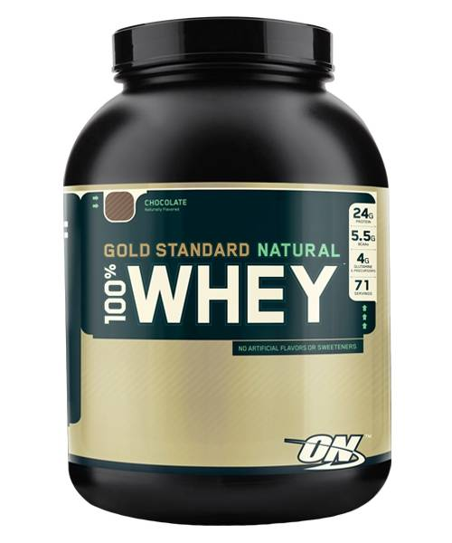 100% Whey Gold Standard Natural Optimum Nutrition 2 268 гр.
