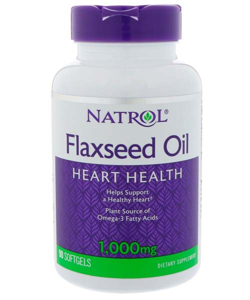 Flax Seed Oil 1000 mg Natrol 90 капс.