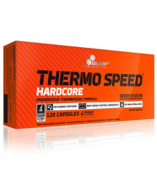 Thermo Speed Hardcore Mega Caps Olimp Sport Nutrition 120 капс.