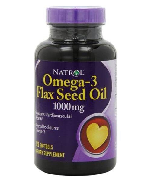 Flax Seed Oil 1000 mg Natrol 120 капс.