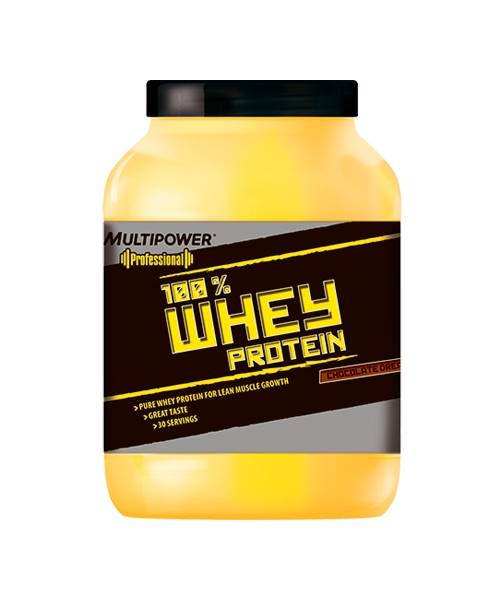 100% Whey Protein Multipower 908 гр.