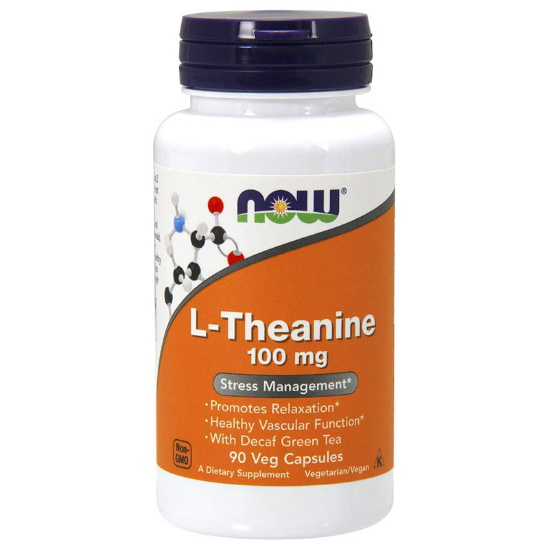 L-theanine 100 mg NOW