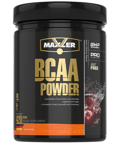 Bcaa Powder Maxler 420 г