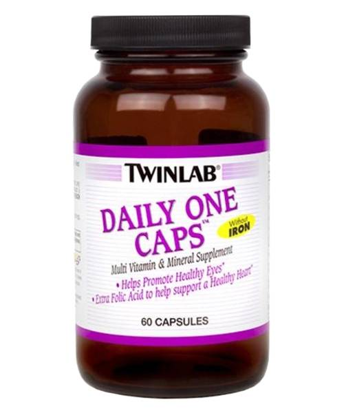 Daily One Caps Without Iron Twinlab 60 капс.