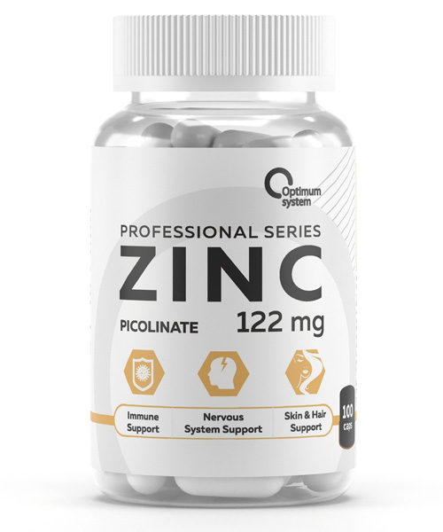 Zinc Picolinate 122 mg. Optimum System