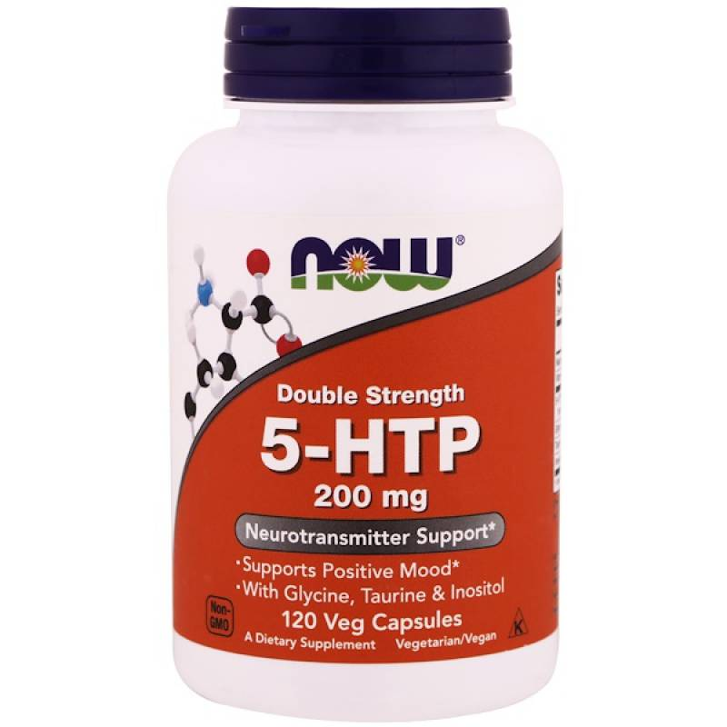 5-htp 200 mg NOW 120 капс.
