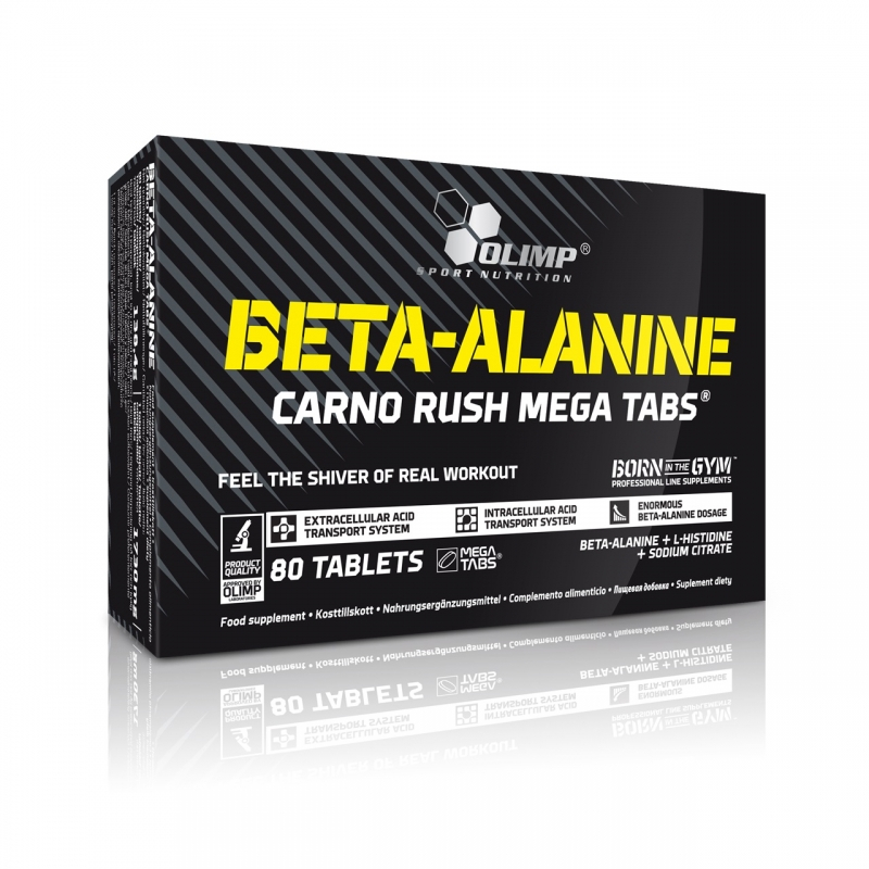 Beta - Alanine Carno Rush Olimp Sport Nutrition 80 таб.