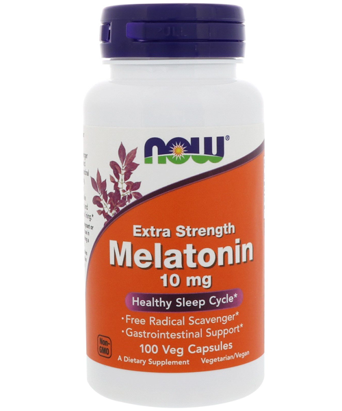 Melatonin 10 mg NOW 100 капс.
