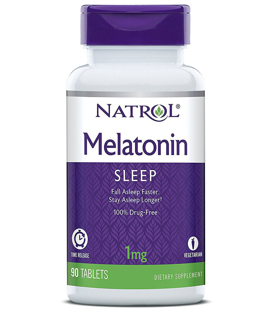 Melatonin 1 mg Natrol 90 таб.