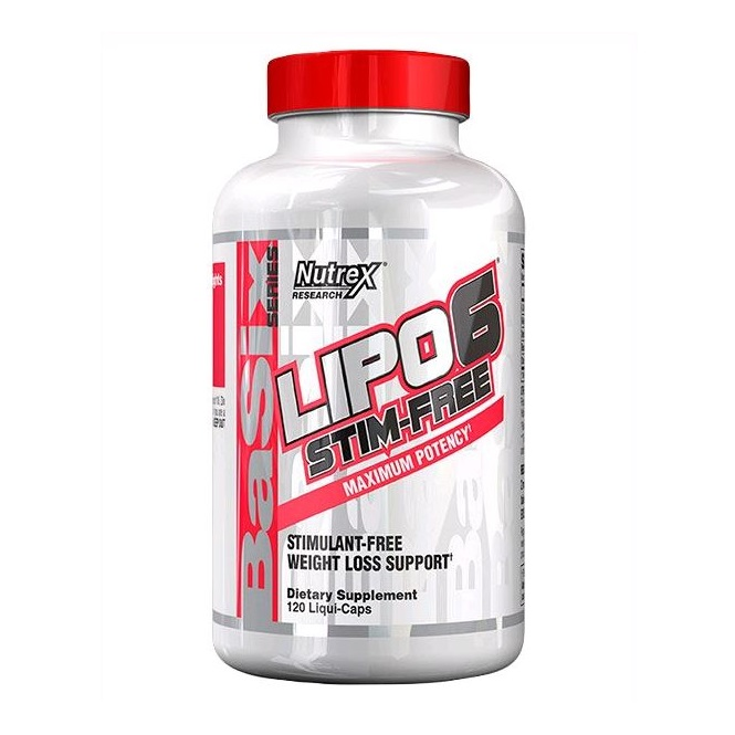 Lipo-6 Stim-free Nutrex Research