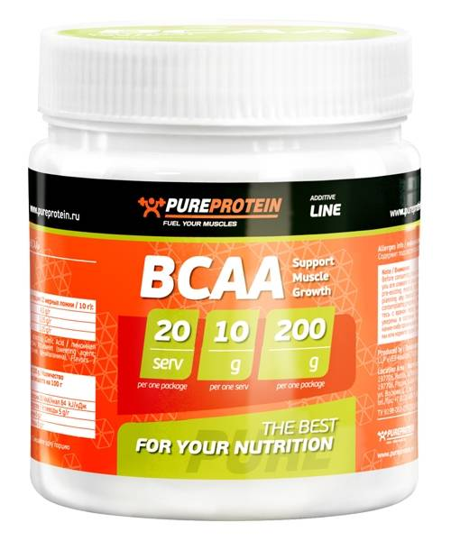 Bcaa Pure Protein 200 гр.