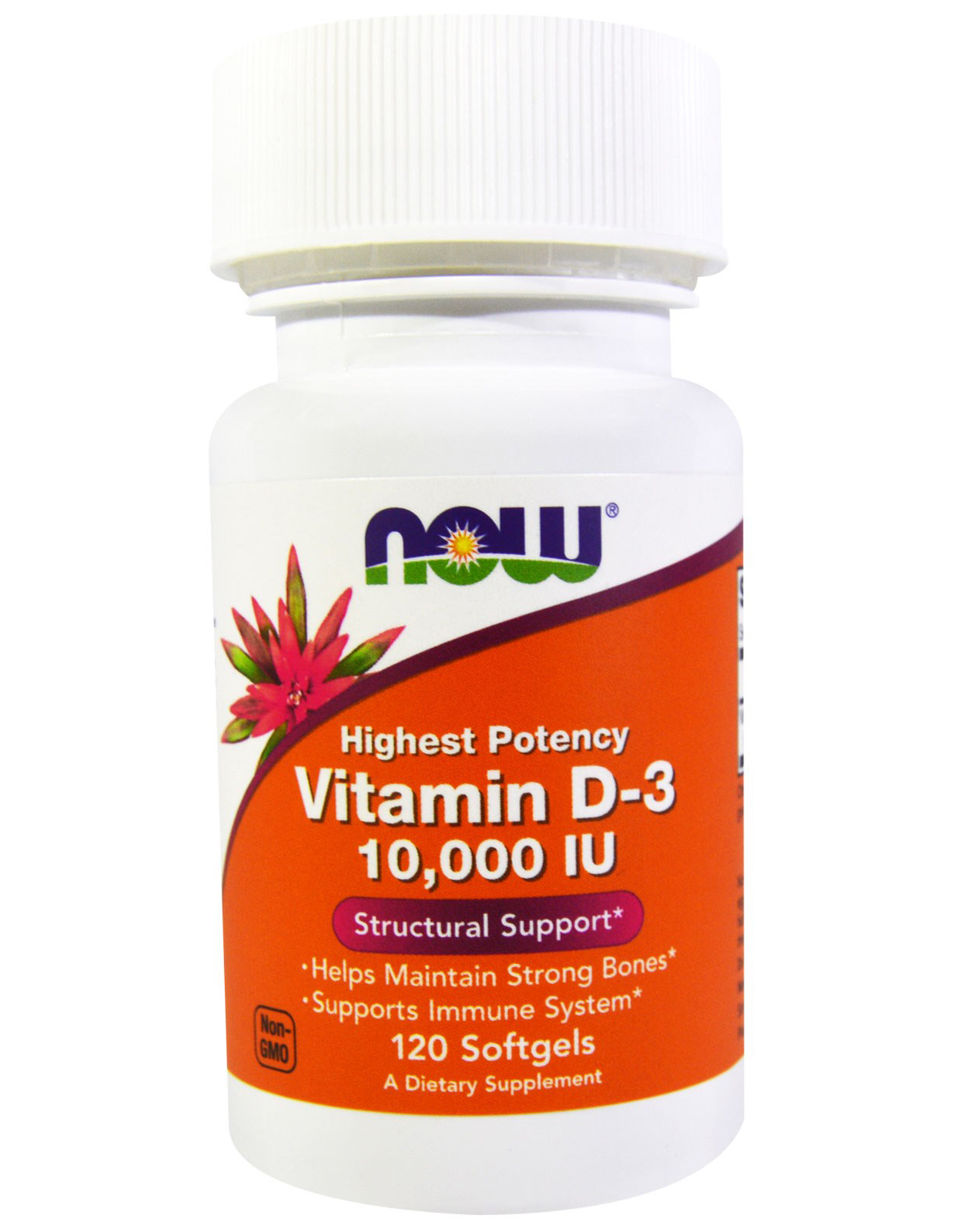 Vitamin D-3 10000 ME NOW 120 капс.