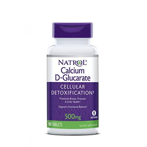 Calcium D-glucarate 500 mg Natrol