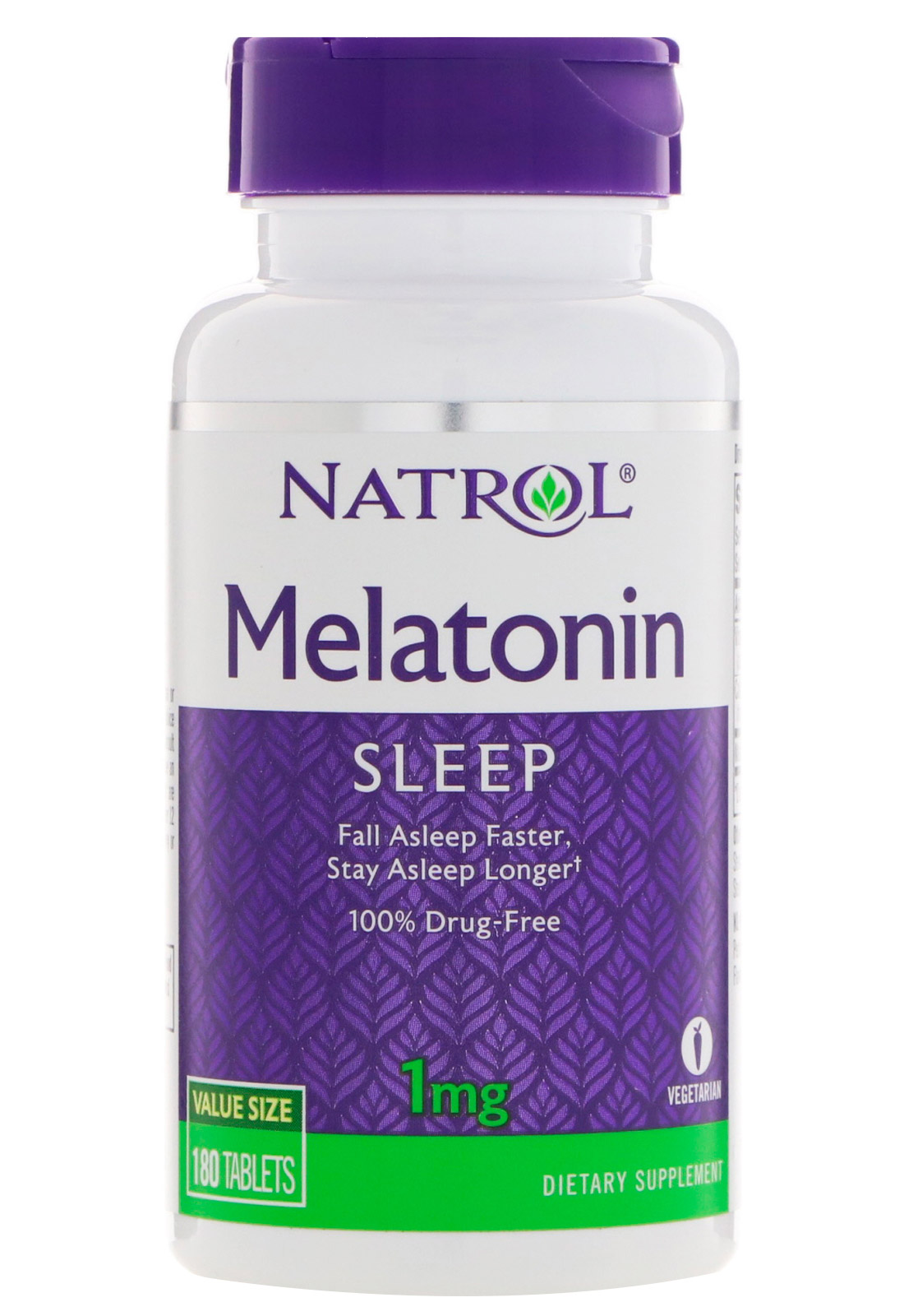 Melatonin 1 mg Natrol 180 таб.