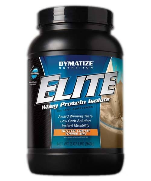 Elite Whey Protein Isolate Dymatize Nutrition 907 г