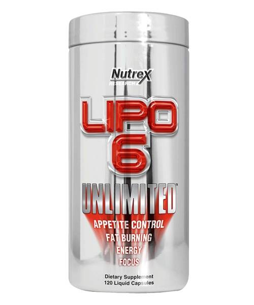 Lipo-6 Unlimited Nutrex Research 120 капс.