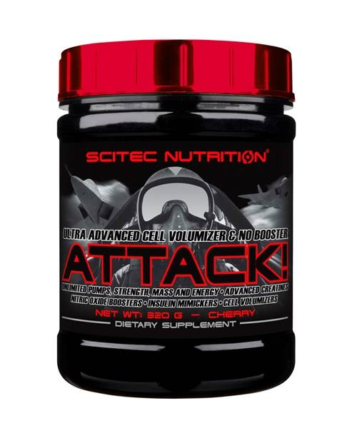 Attack 2.0 Scitec Nutrition 320 гр.