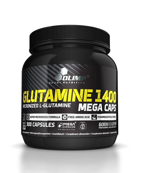 L-glutamine Mega Caps Olimp Sport Nutrition 300 капс.