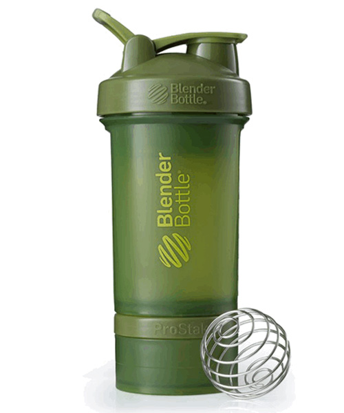 Prostak Full Color Цвет Оливковый (moss Green) Blender Bottle