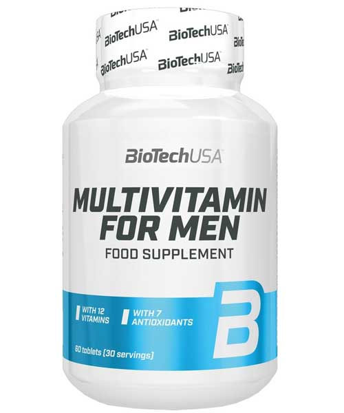 Multivitamin for Men Biotech Nutrition