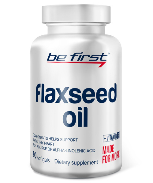 Flaxseed Oil BE First