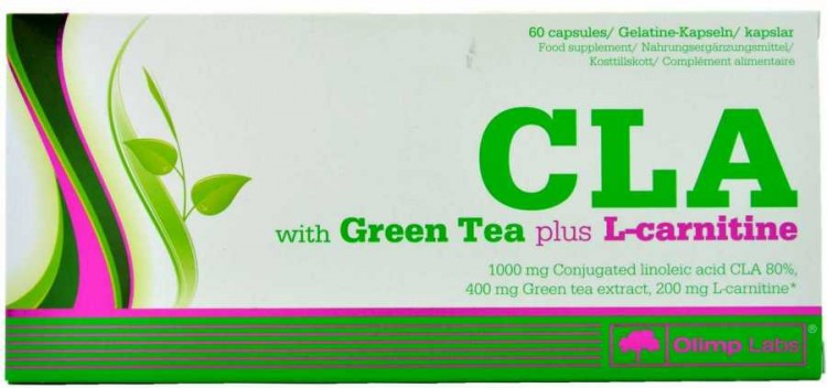 CLA With Green tea Plus L-carnitine Olimp Sport Nutrition