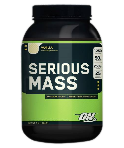 Serious Mass Optimum Nutrition 3 lb
