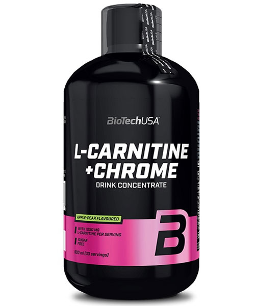 L-carnitine + Chrome Biotech Nutrition
