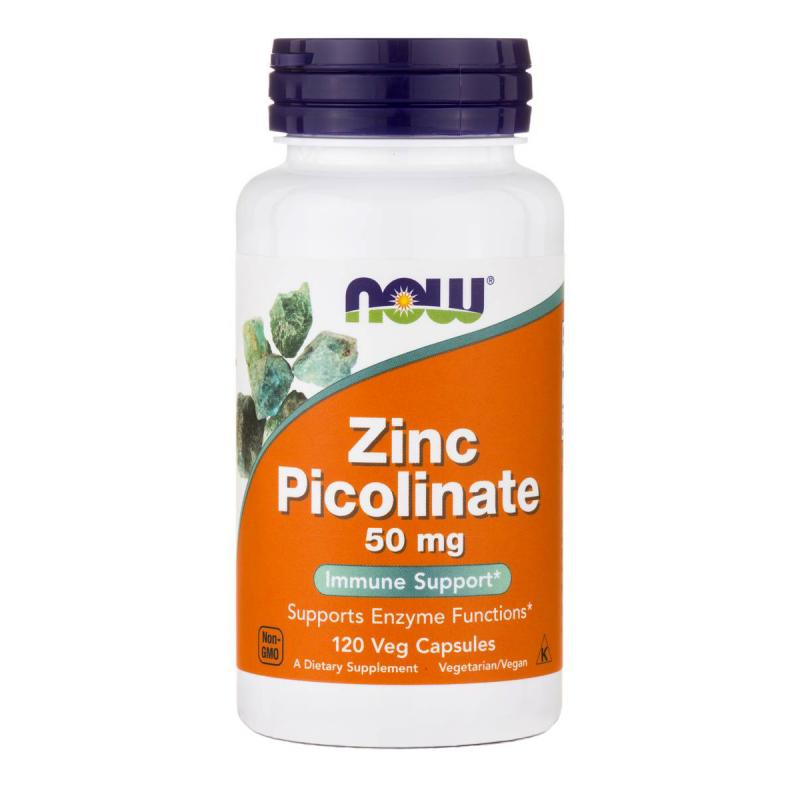 Zinc Picolinate 50 mg NOW 120 капс.