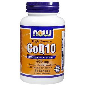 Coenzyme Q10 400 mg NOW