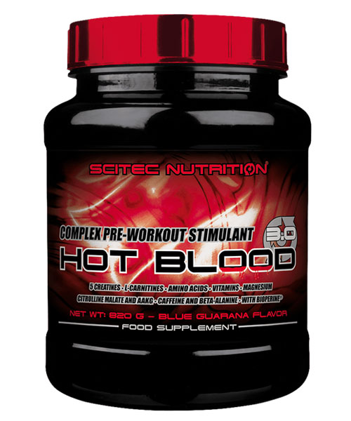 Hot Blood 3.0 Scitec Nutrition 300 г