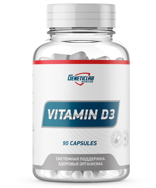 Vitamin D3 Genetic LAB 90 капс.