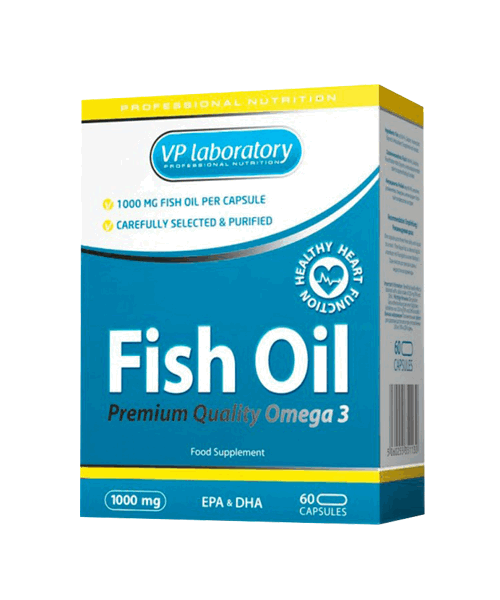 Fish Oil VP Laboratory 60 капс.
