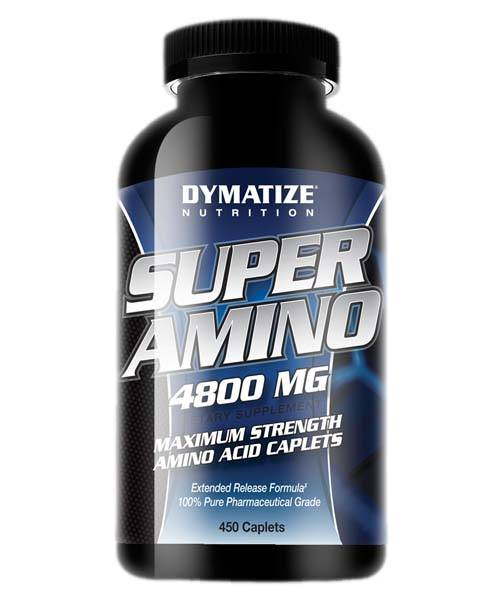 Super Amino 4800 Dymatize Nutrition 450 таб.