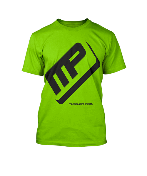 Performancetee, Цвет Green Musclepharm