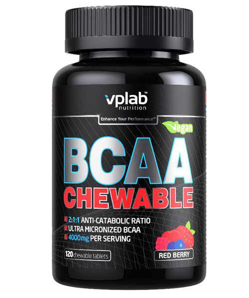 Bcaa Chewable VP Laboratory 120 таб.