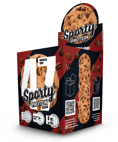 Protein Cookie Sporty 65 г
