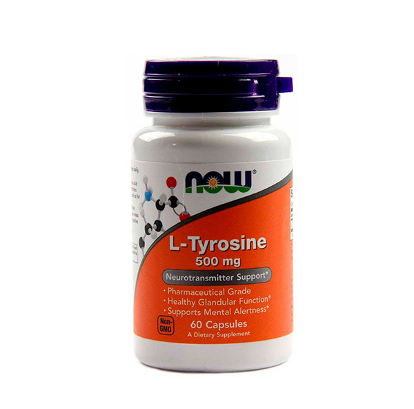 L-tyrosine 500 mg NOW 60 капс.