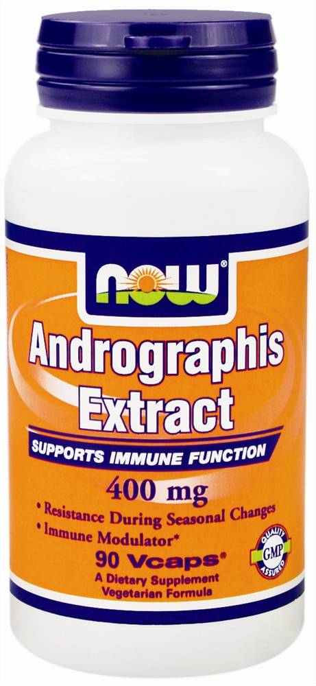 Andrographis Extract 400 mg NOW