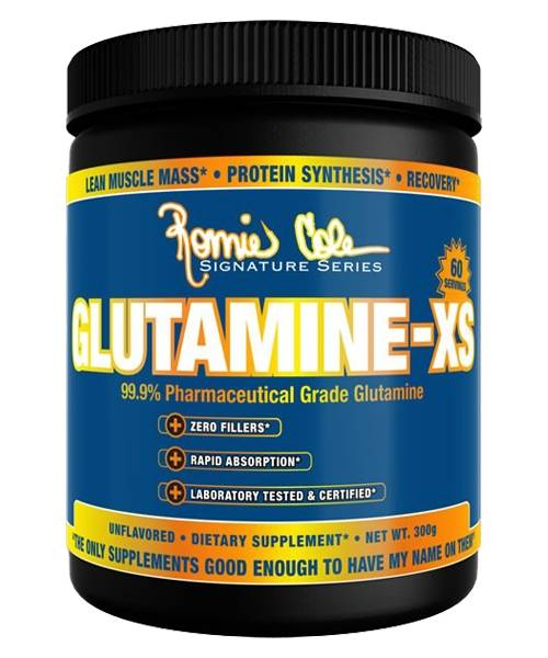 Glutamine-xs Ronnie Coleman Signature Series 300 гр.